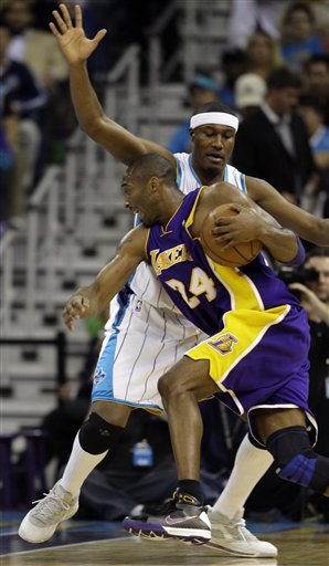 Lakers Hornets Basketball