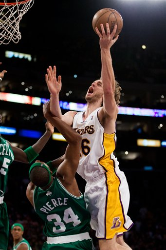 Celtics Lakers Basketball